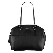 Buy Radley Golborne Leather Large Tote Bag, Black Online at johnlewis.com