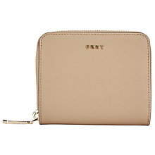 Buy DKNY Bryant Park Saffiano Leather Small Carryall Purse, Natural Online at johnlewis.com