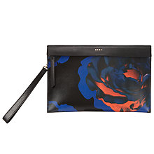 Buy DKNY Cosmic Rose Pouch, Black Online at johnlewis.com