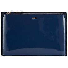 Buy DKNY Smooth Leather Clutch Bag Online at johnlewis.com