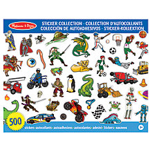 Buy Melissa & Doug Sticker Collection, Blue Online at johnlewis.com