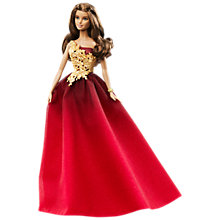 Buy Barbie 2016 Holiday Doll Online at johnlewis.com