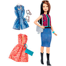 Buy Barbie Fashionistas Pretty in Paisley Doll and Fashions Online at johnlewis.com
