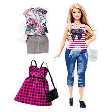 Buy Barbie Fashionistas Everyday Chic Doll and Fashions Online at johnlewis.com