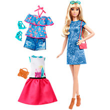 Buy Barbie Fashionistas Lacey Blue Doll and Fashions Online at johnlewis.com