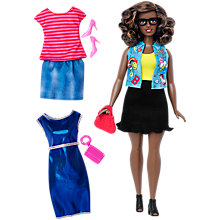 Buy Barbie Fashionistas Emoji Fun Doll and Fashions Online at johnlewis.com