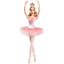 Buy Barbie Ballet Wishes Doll Online at johnlewis.com