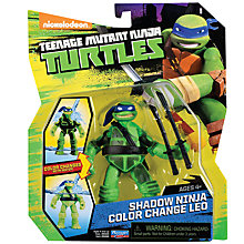 Buy Teenage Mutant Ninja Turtles Shadow Ninja Colour Change Leo Figure Online at johnlewis.com