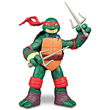 Buy Teenage Mutant Ninja Turtles 2: Out of the Shadows Raphael Action Figure Online at johnlewis.com