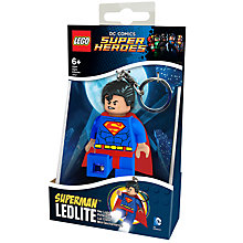 Buy LEGO DC Super Heroes Superman Keylight Online at johnlewis.com