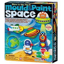 Buy Mould & Paint Glow In The Dark Space Kit Online at johnlewis.com