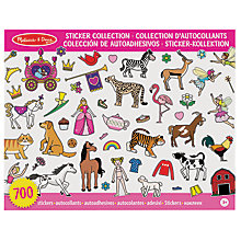 Buy Melissa & Doug Sticker Collection, Pink Online at johnlewis.com