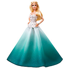 Buy Barbie 2016 Holiday Barbie Doll Online at johnlewis.com