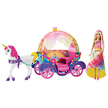 Buy Barbie Dreamtopia Rainbow Cove Playset Online at johnlewis.com