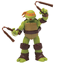 Buy Teenage Mutant Ninja Turtles Tongue Poppin' Mikey Figure Online at johnlewis.com