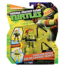 Buy Teenage Mutant Ninja Turtles Shadow Ninja Colour Change Mikey Figure Online at johnlewis.com