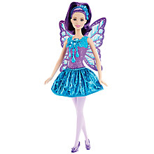 Buy Barbie Mermaid Fairy Gem Fashion Doll Online at johnlewis.com