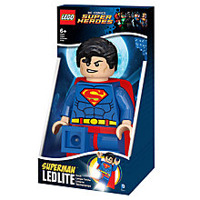 Buy LEGO Super Heroes Superman LED Torch Online at johnlewis.com