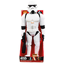 "Buy Star Wars  24"" Talking Stormtrooper Plush Soft Toy Online at johnlewis.com"
