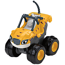 Buy Blaze and the Monster Machines Slam and Go Stripes Vehicle Online at johnlewis.com