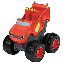Buy Blaze and the Monster Machines Slam and Go Blaze Vehicle Online at johnlewis.com