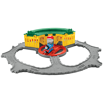 Fisher-Price Thomas & Friends Take-n-Play Tidmouth Sheds Playset