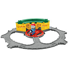 Buy Fisher-Price Thomas & Friends Take-n-Play Tidmouth Sheds Playset Online at johnlewis.com
