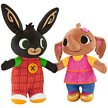Buy Bing Bunny And Sula Talking Toys Online at johnlewis.com