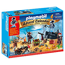 Buy Playmobil Pirate Treasure Island Advent Calendar Online at johnlewis.com