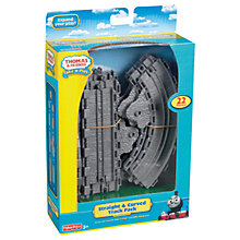 Buy Fisher-Price Thomas & Friends Take-n-Play Straight and Curved Track Pack Online at johnlewis.com