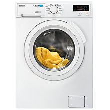 Buy Zanussi ZWD81683NW Freestanding Washer Dryer, 8kg Wash/6kg Dry Load, A Energy Rating, 1600rpm Spin, White Online at johnlewis.com