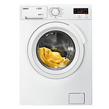 Buy Zanussi ZWD91683NW Freestanding Washer Dryer, 9kg Wash/6kg Dry Load, A Energy Rating, 1600rpm Spin, White Online at johnlewis.com
