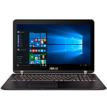 "Buy ASUS ZenBook Flip UX560UQ Laptop, Intel Core i7, 12GB RAM, 512GB SSD, 15.6"" Full HD, Black Online at johnlewis.com"