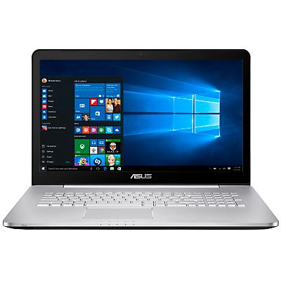 "Image of ASUS N Series Laptop, Intel Core i5, 12GB RAM, 2TB + 128GB, 17.3"", Full HD, Grey"