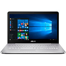 "Buy ASUS N Series Laptop, Intel Core i5, 12GB RAM, 2TB + 128GB, 17.3"", Full HD, Grey Online at johnlewis.com"