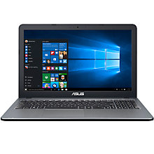 "Buy ASUS X540SA Laptop, Intel Pentium, 8GB RAM, 1TB, 15.6"" Online at johnlewis.com"