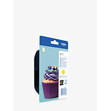 Buy Brother LC123Y Ink Cartridge, Yellow Online at johnlewis.com