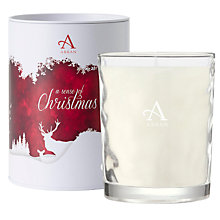 Buy Arran Sense Of Scotland Cinnamon Scented Candle, Large Online at johnlewis.com