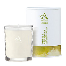 Buy Arran Aromatics Jasmine and Philadelphus Scented Candle, Small Online at johnlewis.com