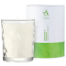 Buy Arran Aromatics Bergamot and Geranium Scented Candle, Large Online at johnlewis.com