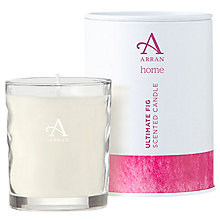 Buy Arran Aromatics Ultimate Fig Scented Candle, Small Online at johnlewis.com