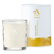 Buy Arran Aromatics Wild Gorse Scented Candle, Small Online at johnlewis.com