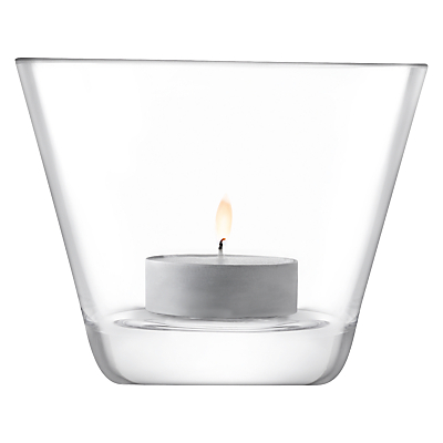 Image of LSA International Light Conical Tealight Holder, 8cm