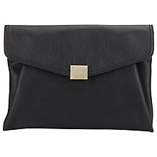 Buy Miss Selfridge Soft Foldover Clutch Online at johnlewis.com