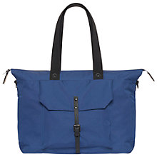 Buy Ally Capellino Teddy Ripstop Small Holdall, Navy Online at johnlewis.com