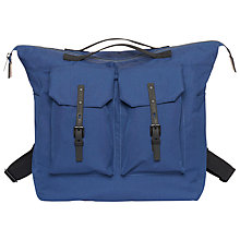 Buy Ally Capellino Franck Ripstop Backpack, Navy Online at johnlewis.com