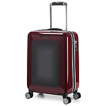 Buy Ted Baker Small Hardside Spinner 4-Wheel 54cm Suitcase, Burgundy Online at johnlewis.com