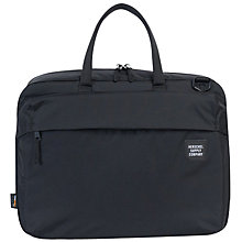 Buy Herschel Supply Co. Britannia Briefcase, Black Online at johnlewis.com