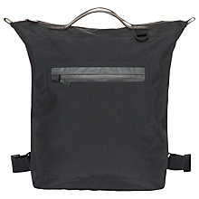 Buy Ally Capellino Hoy Travel Cycle Bag Backpack, Black Online at johnlewis.com