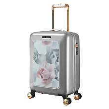 Buy Ted Baker Small Hardside Spinner 4-Wheel 54cm Suitcase, Porcelain Online at johnlewis.com